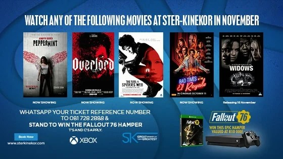 fallout 76 Ster-Kinekor Competition