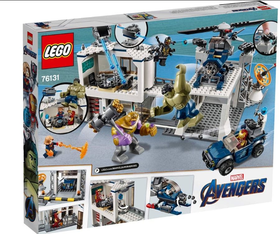 Lego Marvel Avengers Compound Battle Set Review Avengers Assemble