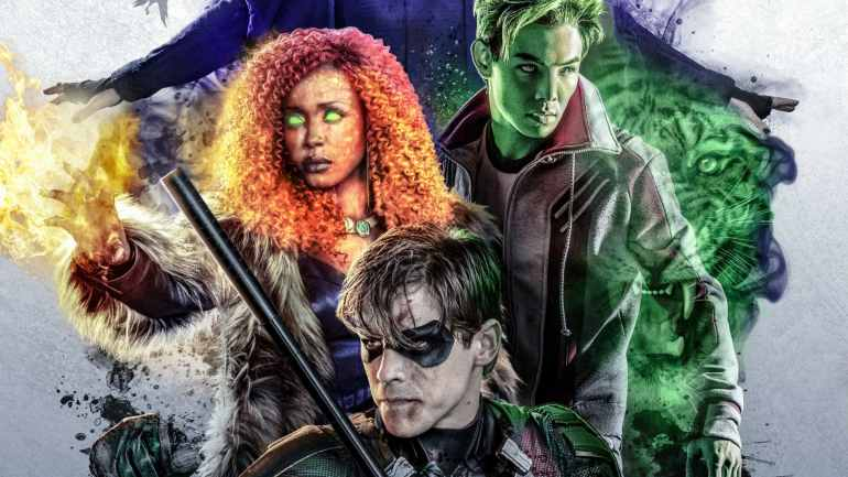 most-torrented TV shows Titans