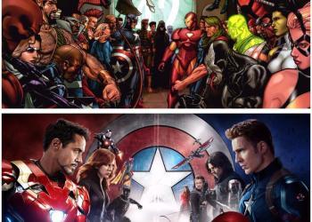 Comic Book Movies Comics