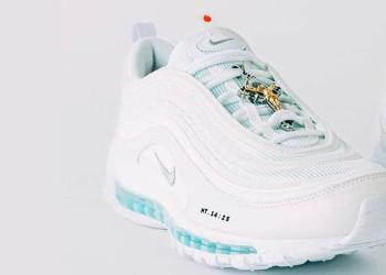 "MSCHF Drops ""Jesus Shoe"" - A Custom Nike Air Max 97 With Holy Water Cushioning"