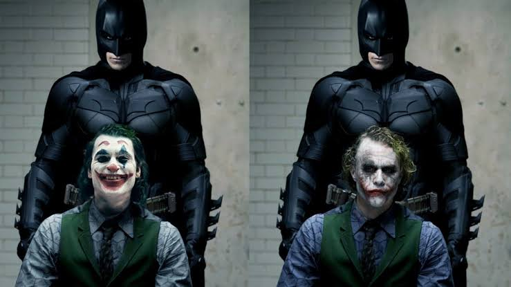 joker heath ledger joker joaquin phoenix