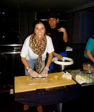 Go Melinda! Looking good! Chef is pretty excited too :)