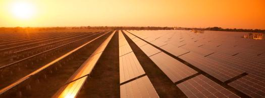 Solar panels in India that gives solar power and energy