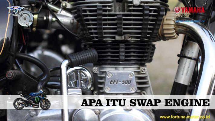 apa itu swap engine mesin motor