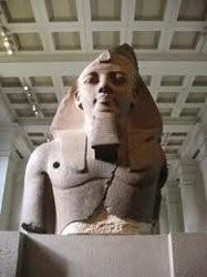 Statua di Ramesses al British Museum