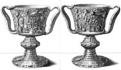 Coppa dei Tolomei Illustrazione