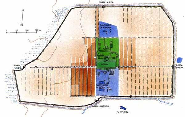 Area di Paestum