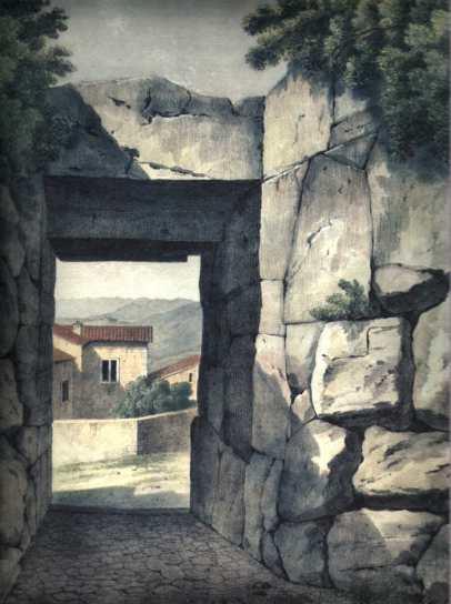 Porta Maggiore dall'interno