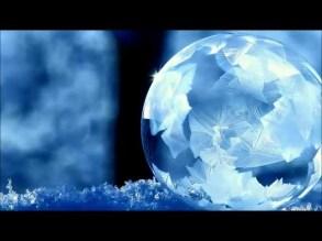 Bolla di sapone a -15° come si ghiaccia.