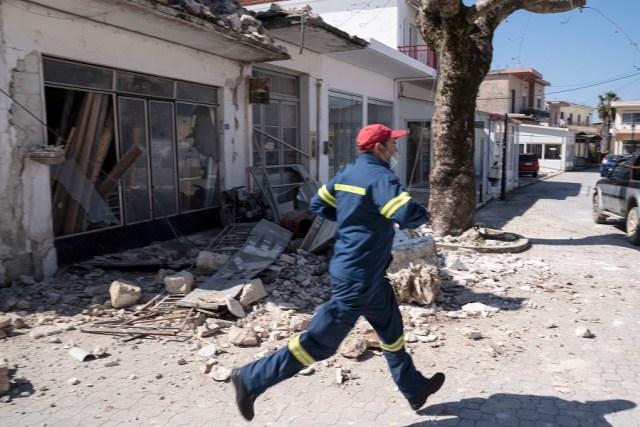 Ισχυρός σεισμός 5,6 Ρίχτερ στην Πάργα - Υλικές ζημιές στο Καναλάκι ...