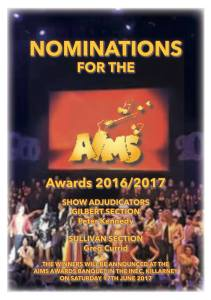 AIMS Nominations 2017