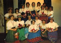 Members of the ladies' chorus of The Gondoliers