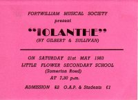 Iolanthe ticket