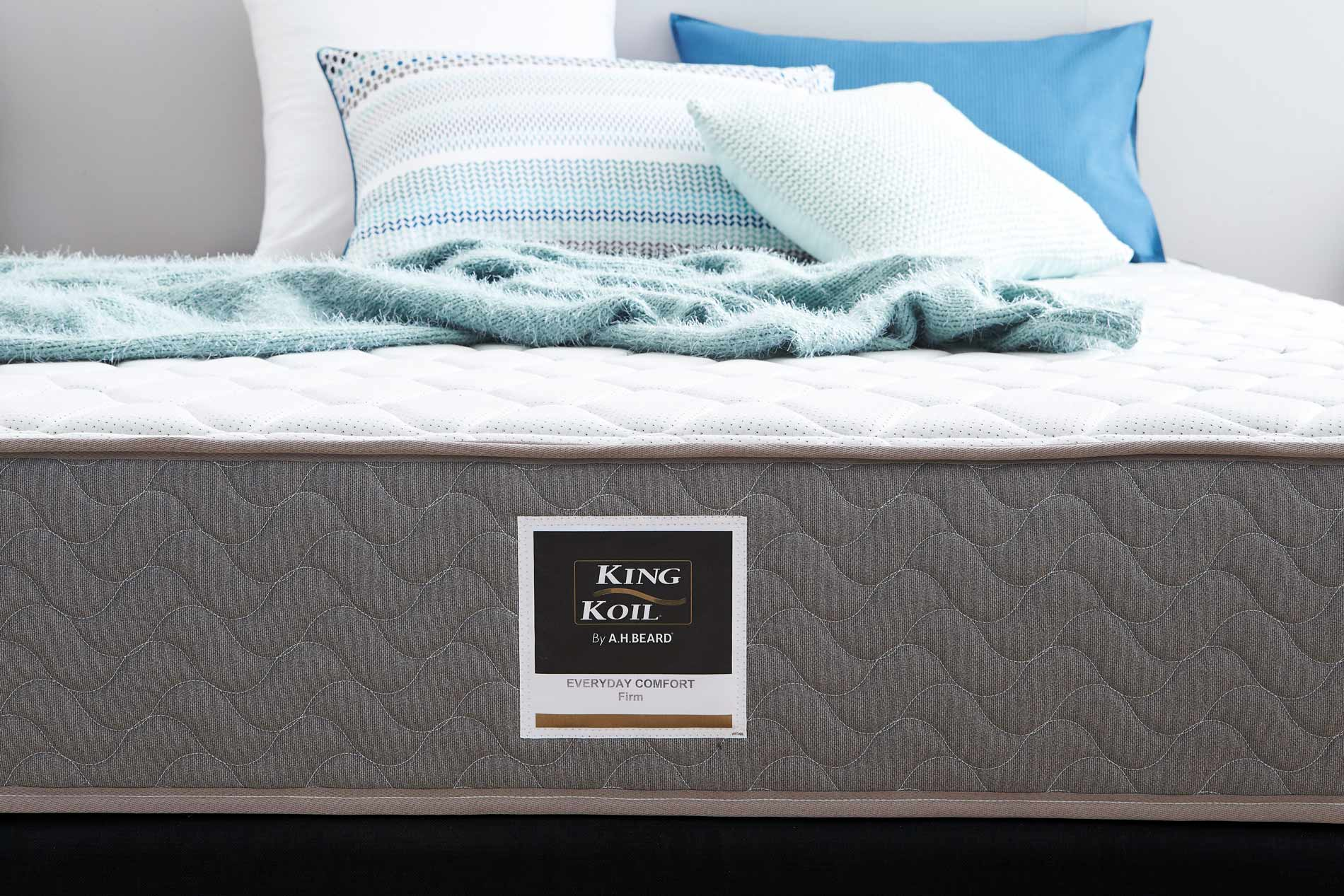 KING KOIL Everyday Comfort Mattress Firm Beds