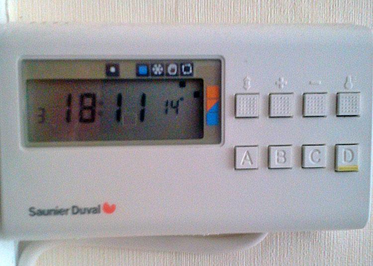 Probleme Reglage Thermostat Programmable Chaudiere Saunier Duval Pas De Notice
