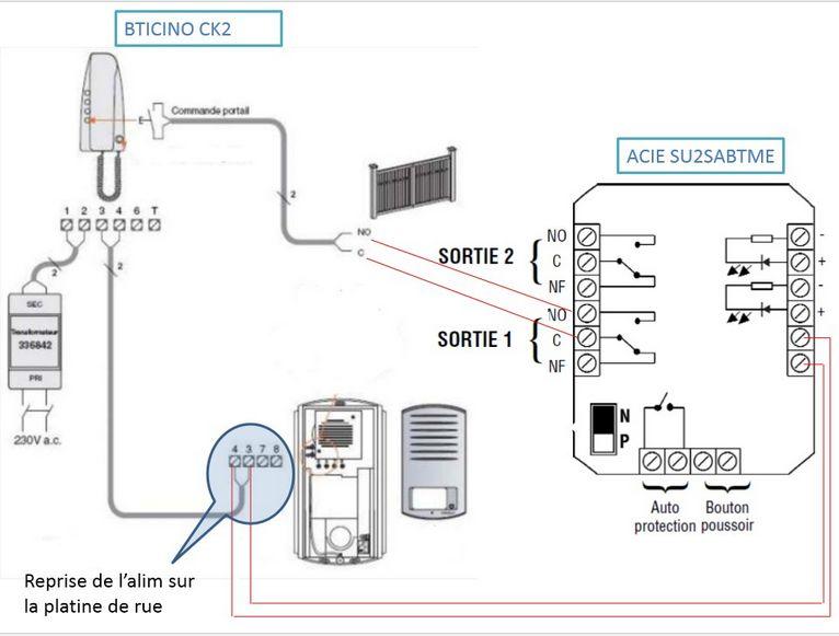 Question Forum Lectricit Problme Sifflement Interphone