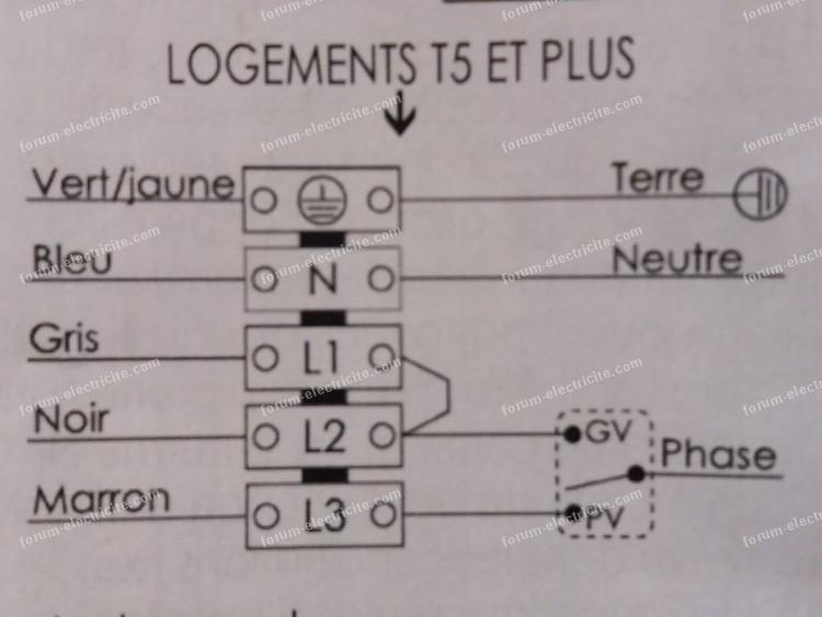 Conseils Branchement Electrique Vmc Comment Brancher L2 Et L3 Et Realiser Le Pont Entre L2 Et L1