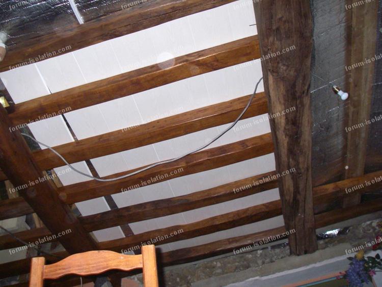 Isolation Thermique Plafond Tourdissant Isolation