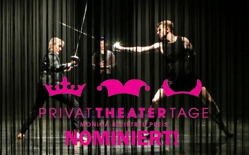 Forum Theater erneut nominiert für den Monica Bleibtreu Preis bei den bundesweiten Privattheatertagen