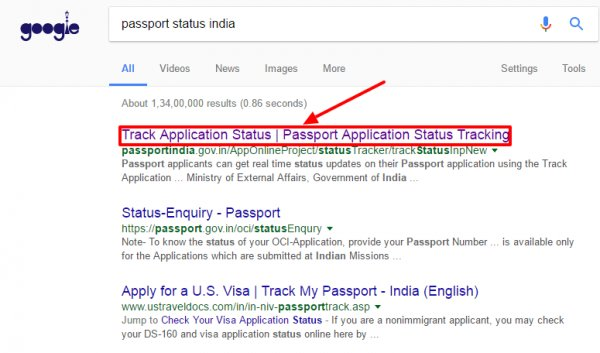 Us Travel Docs India Passport Status | lifehacked1st com