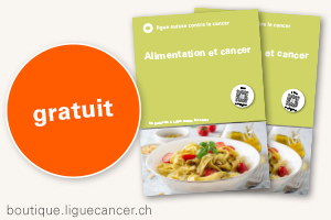Brochure Ali­men­ta­tion et can­cer