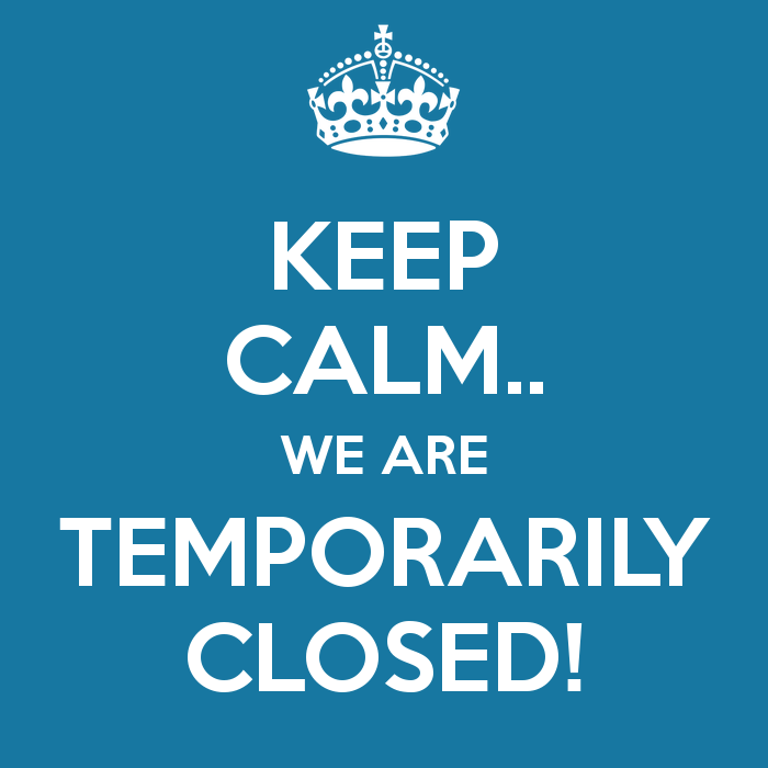 Restaurant will be closed for a few days!
