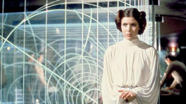 Умерла исполнительница роли принцессы Леи в «Звездных войнах»