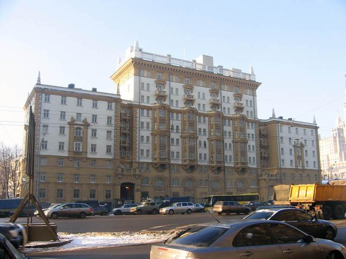 В России не исключили нового сокращения сотрудников дипмиссии США
