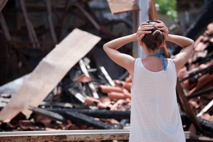 Климат в зоне пожаров в Калифорнии стал опасен для здоровья