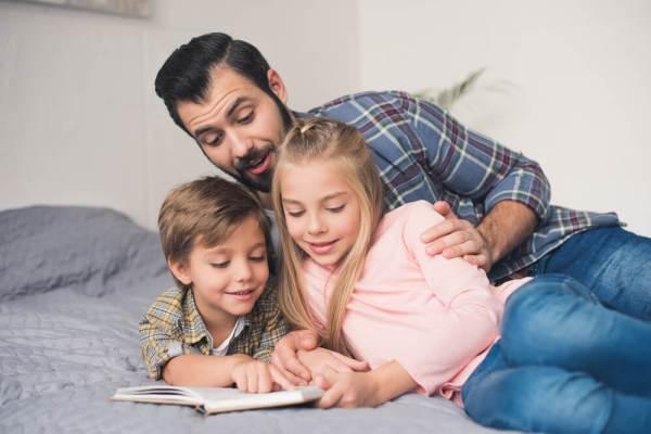 Почему американские педиатры советуют читать ребенку вслух ...
