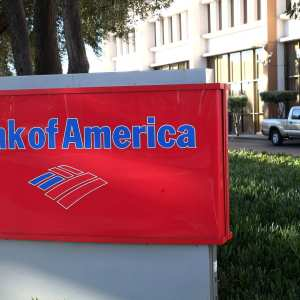 Opening a bank account at the Bank of America