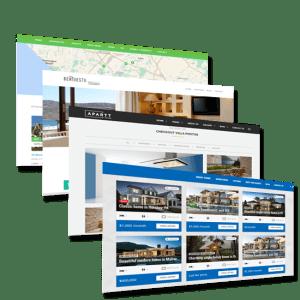 建立房地产网站 - 示例1