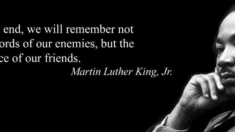 MLK Day 2018 – Monday Admin Post