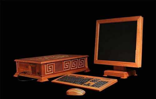 amazing wooden computer 3