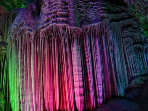 Reed Flute Cave Guilin Guangxi China 1