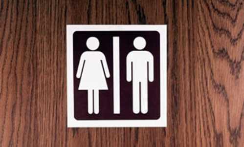 germiest places restroom door handles