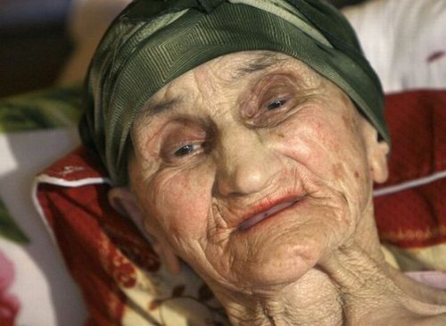oldest woman 14