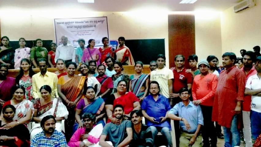 Karnataka's transgenders & allies who discussed caste, class & gender identity