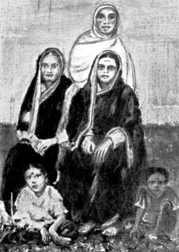 sagunabai-seated-left-savitribai-and-fatima-sheikh-standing