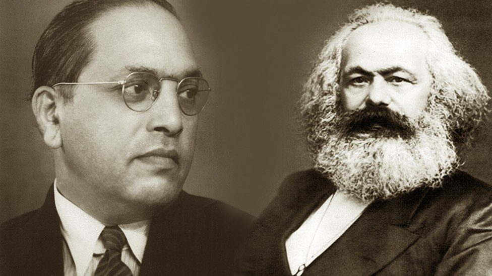 Image result for Gandhi, Karl Marx, Ambedkar