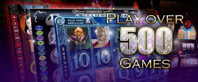 豊富なオンラインカジノゲーム