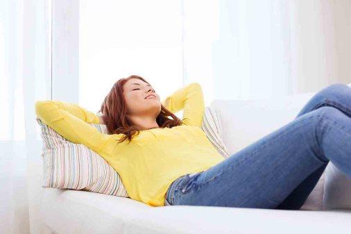 Laat je lichaam tot rust komen