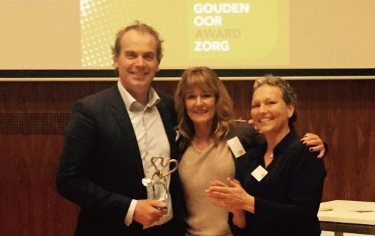 Alexander Monro Borstkankerziekenhuis wint Gouden Oor Award Zorg