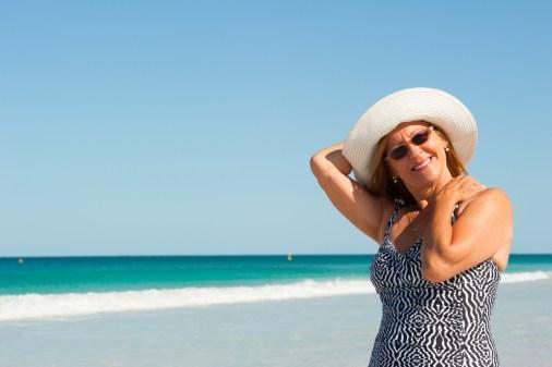 'Ik durf  weer naar het strand'