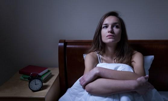 Bijna elke nacht lag ik wakker in bed