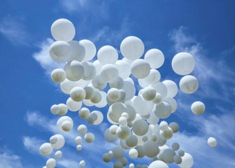 99 witte ballonnen