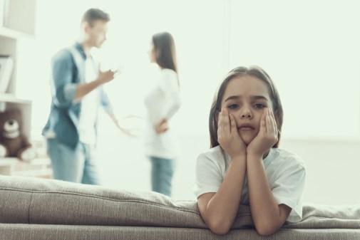 De stress van kinderen bij een scheiding