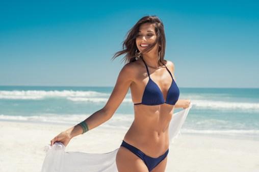 Straks met een gladde huid op het strand?