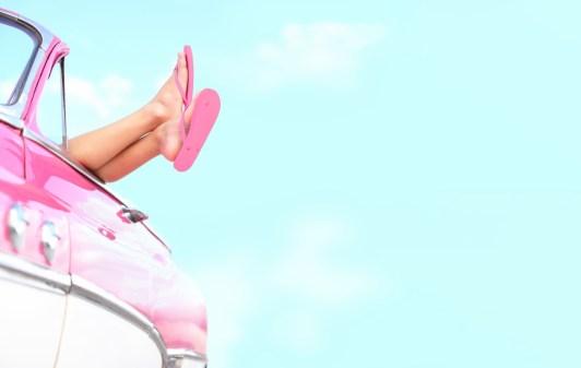Mooie en gezonde voeten in de zomer